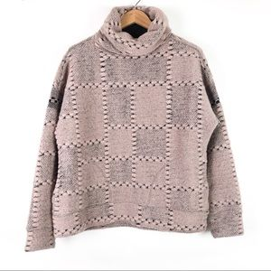 prAna Crestland Pullover Sweater Chunky Turtleneck